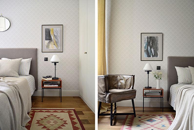 Дизайн маленькой квартиры в Гранатном переулке, Москва