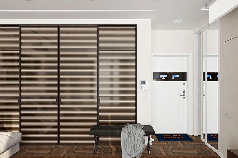 Дизайн однокомнатной квартиры для девушки