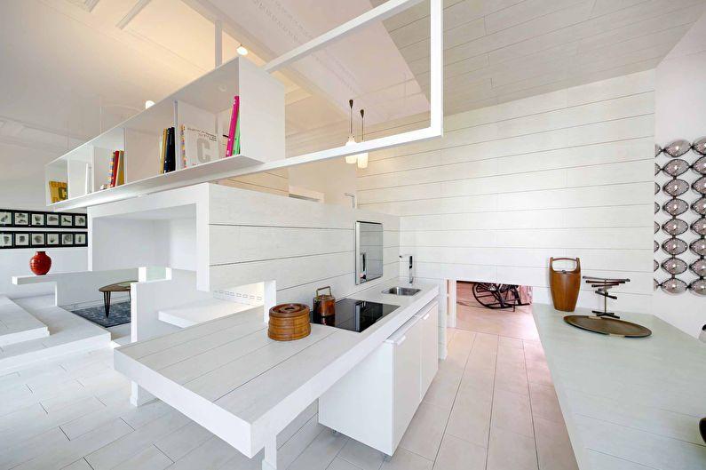 Дизайн интерьера однокомнатной квартиры 54 кв.м.
