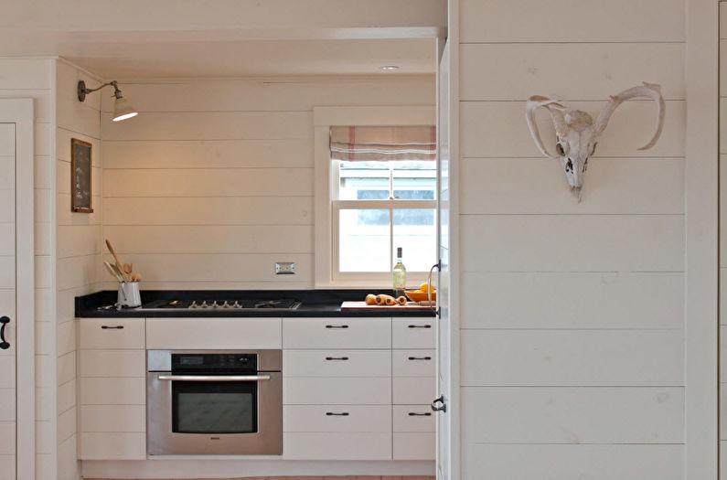 Отделка стен на кухне - Панели