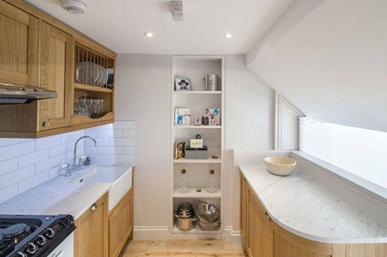 Дизайн кухни 6 кв.м. - как расставить мебель