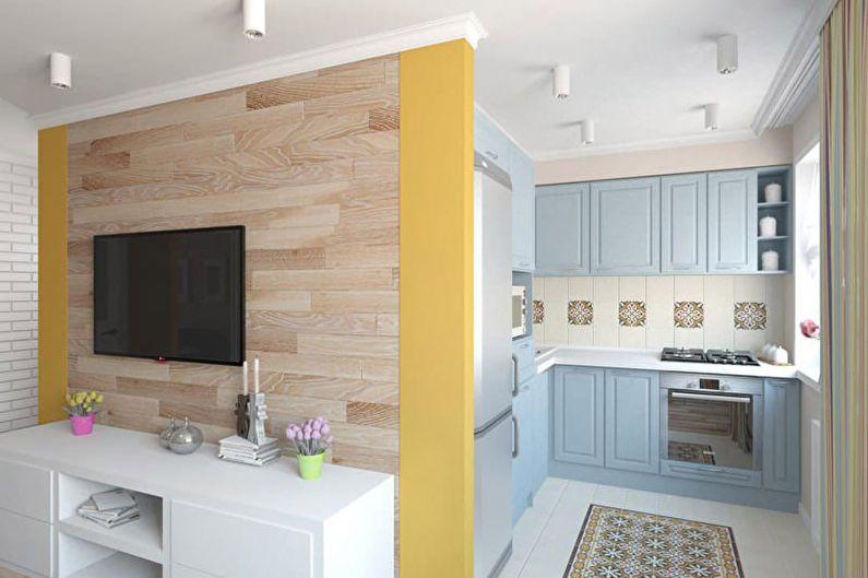 Дизайн кухни 6 кв.м. в хрущевке