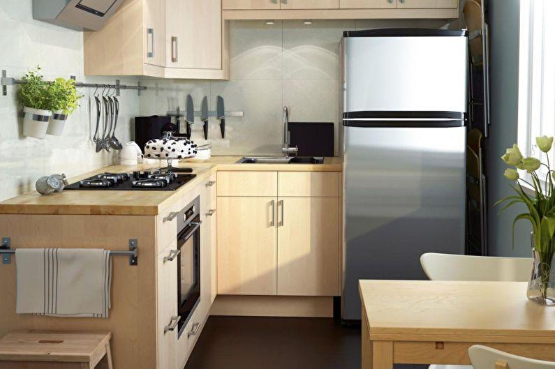 Дизайн интерьера кухни 6 кв.м. - фото