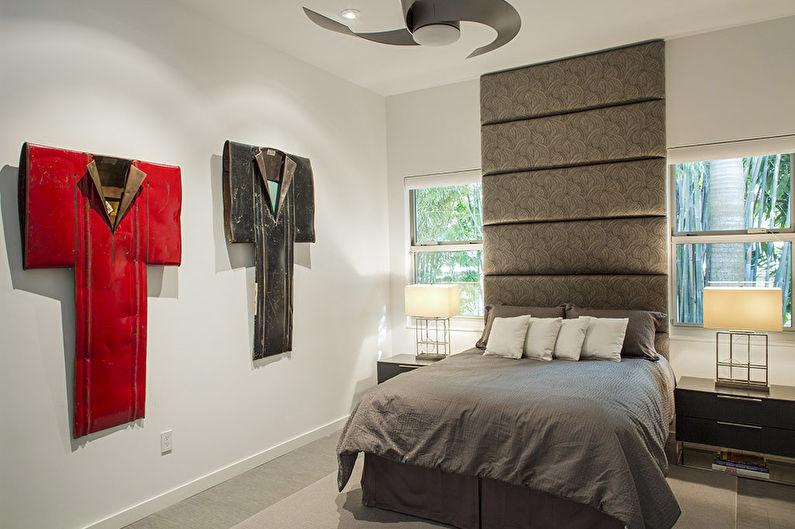 Дизайн спальни 12 кв.м. в современном стиле