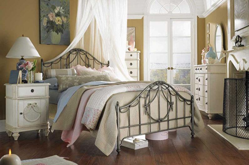 Дизайн спальни 12 кв.м. в стиле прованс