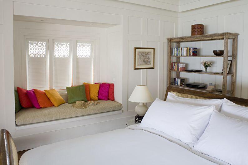 Дизайн интерьера спальни 12 кв.м. - цветовая палитра