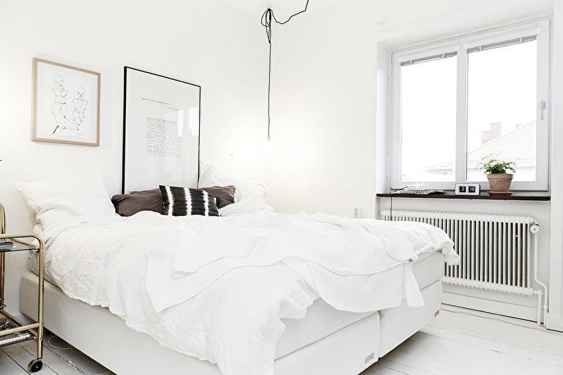 Дизайн спальни 12 кв.м. - отделка потолка