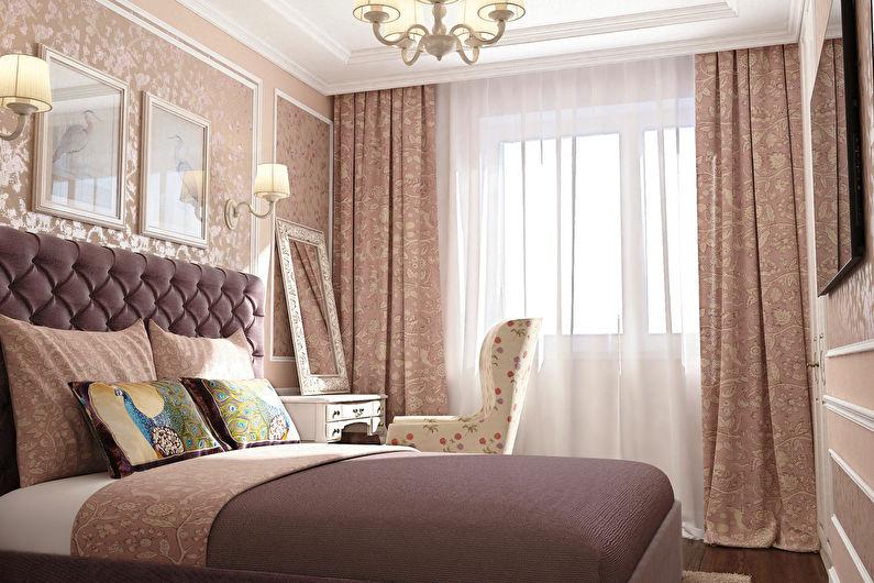 Дизайн спальни 12 кв.м. - декор и текстиль