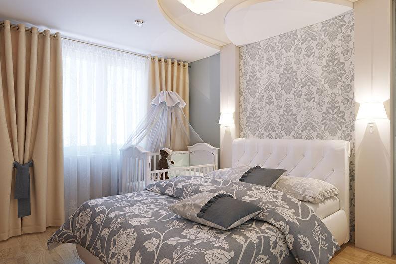 Дизайн спальни 12 кв.м. в хрущевке