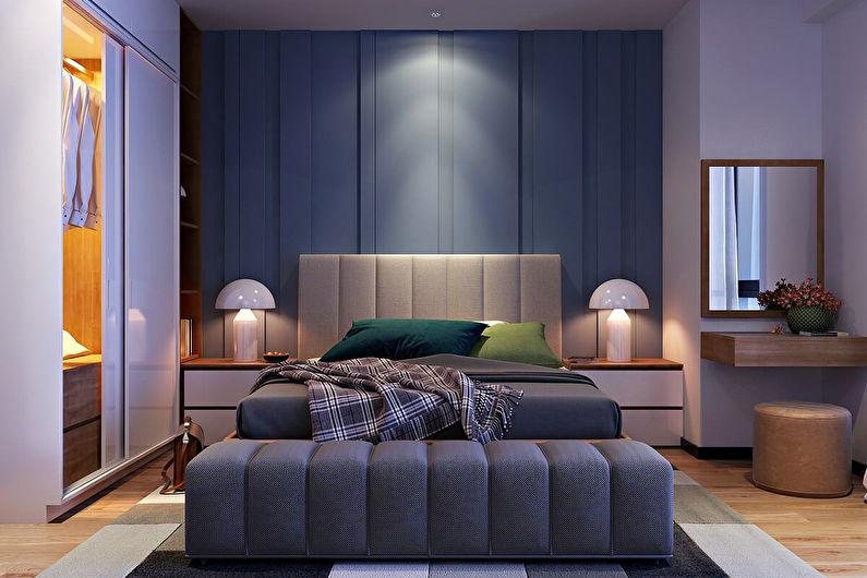 Дизайн спальни 12 кв.м. - освещение и подсветка