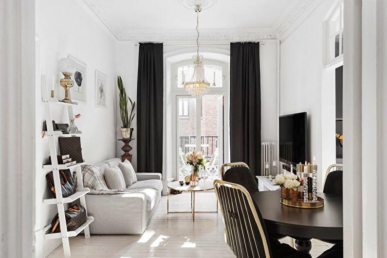 Дизайн гостиной 18 кв.м.: 50 ярких идей
