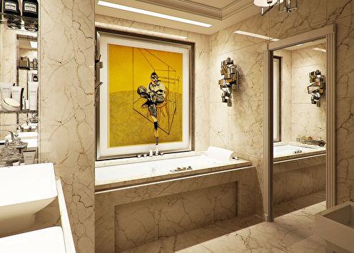 Ванная в квартире на Ялтинской улице