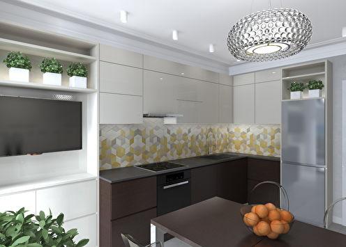 Интерьер кухни для молодой семьи