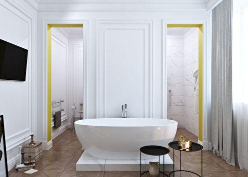 Ванная комната «Yellow stripe»