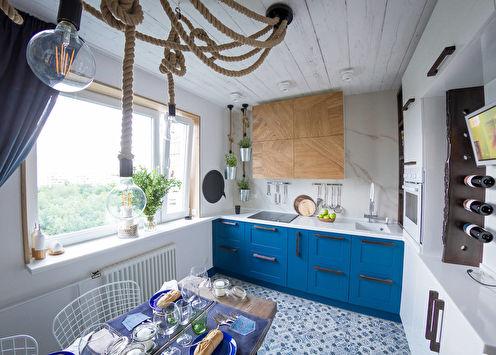 Дизайн кухни 8 кв.м. (+55 фото)