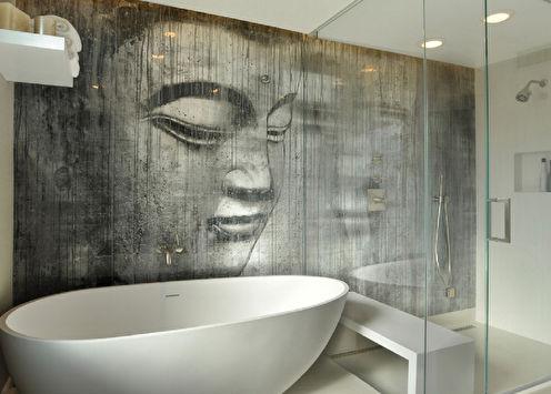 Отделка стен в ванной комнате: 10 лучших материалов