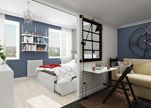 Suite: Квартира 25 кв.м.