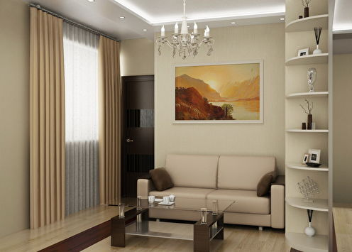 Квартира в современном стиле, 41 м2