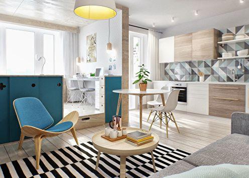 Дизайн маленькой квартиры (+80 фото)