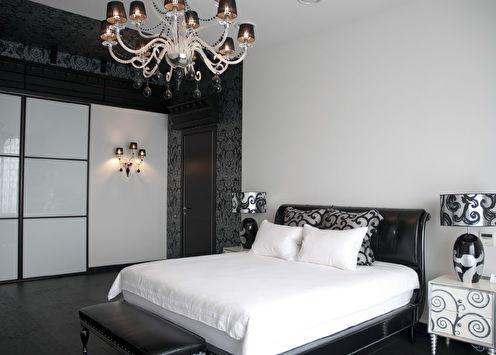 Hollywood: Спальня в стиле арт-деко