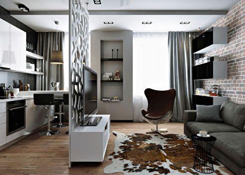75 идей для дизайна квартиры-студии