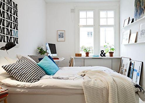 Идеи дизайна спальни 12 кв.м. (60+ фото)