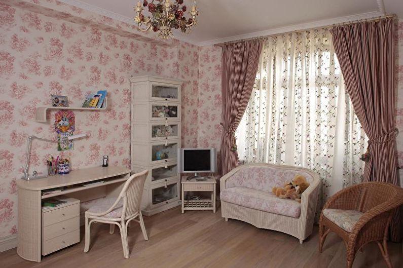 Флизелиновые обои для детской комнаты - фото