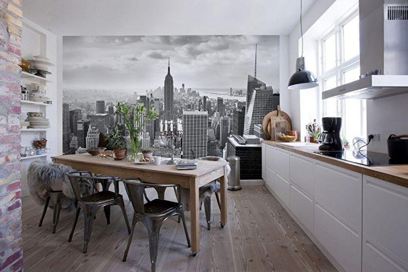 Фотообои на кухню - Панорама