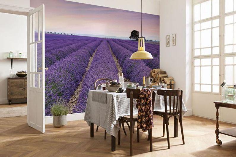 Фотообои на кухню - Реалистичные