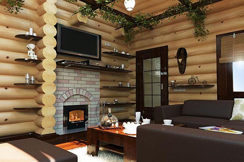 Интерьер бани и комнаты отдыха - Обустройство
