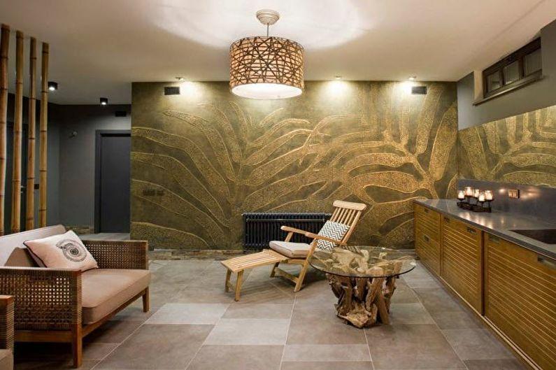 Баня в стиле модерн - Дизайн интерьера