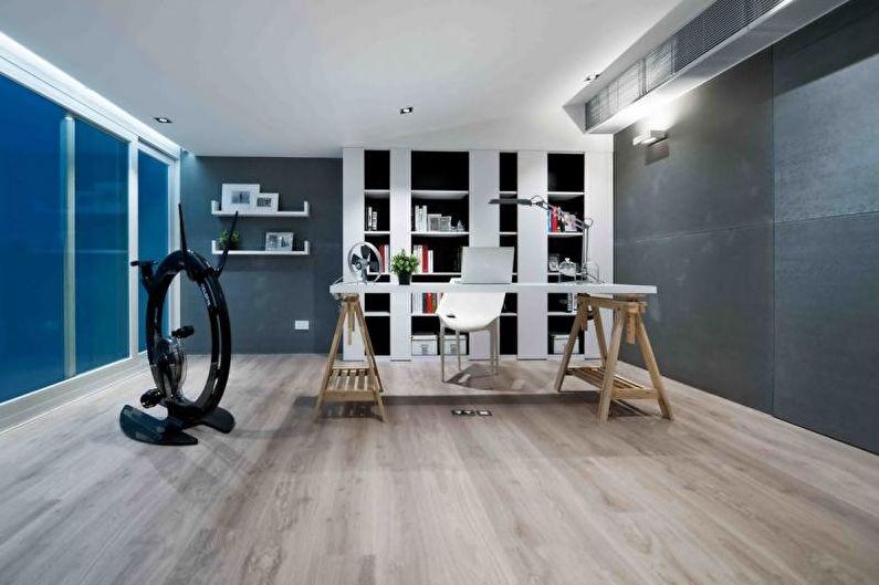 Дизайн интерьера квартиры в стиле хай-тек - фото