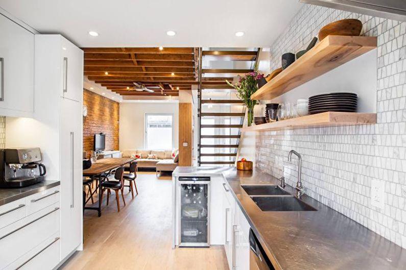 Столешница для кухни из стали