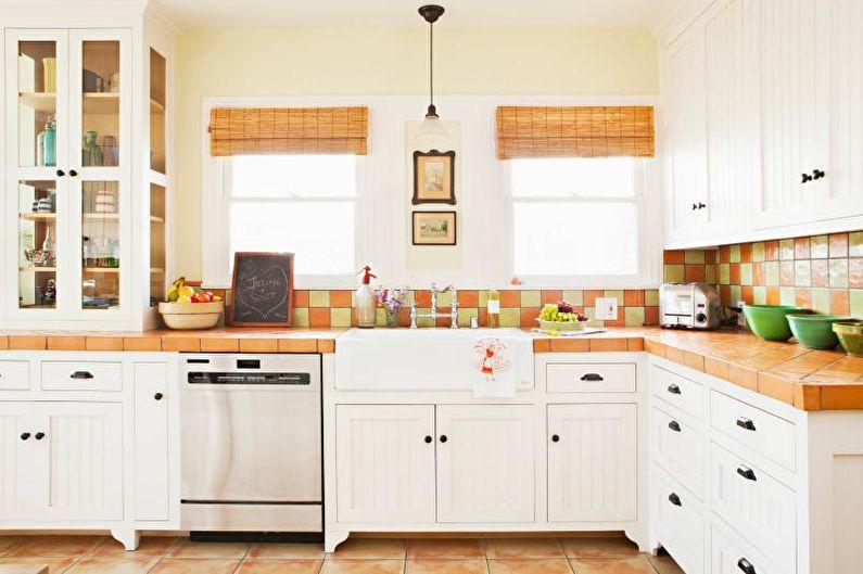 Столешница для кухни из плитки
