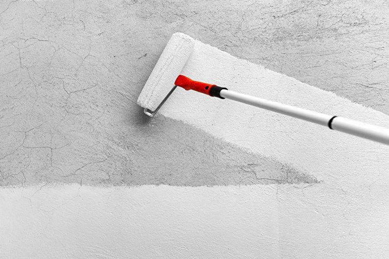 Водоэмульсионная краска - Технические характеристики
