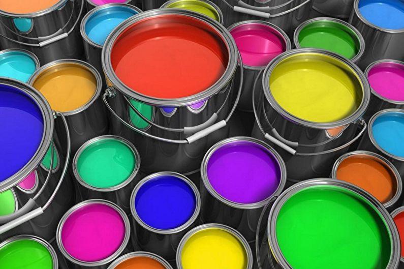 Водоэмульсионная краска - Виды
