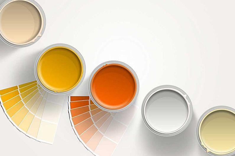 Водоэмульсионная краска - Как подобрать цвет
