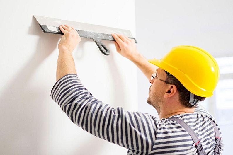 Водоэмульсионная краска - Подготовка стен