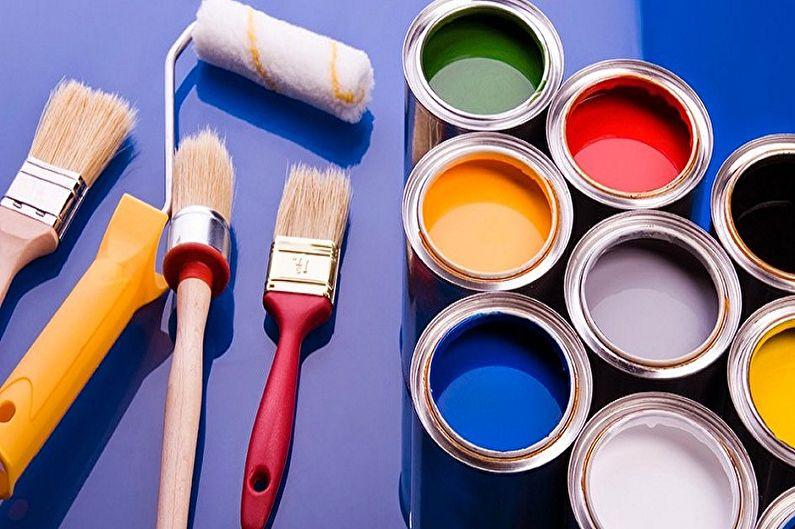 Как наносить водоэмульсионную краску
