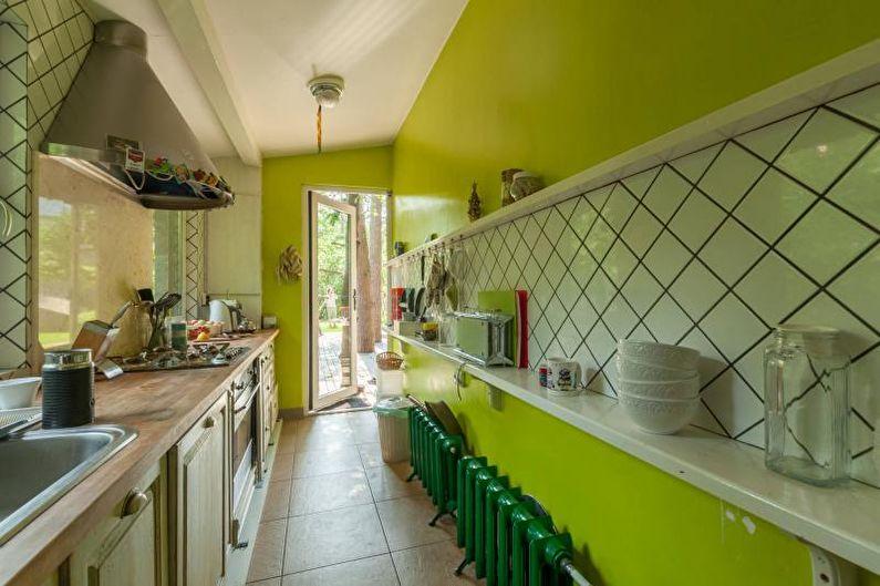 Водоэмульсионная краска в интерьере - фото