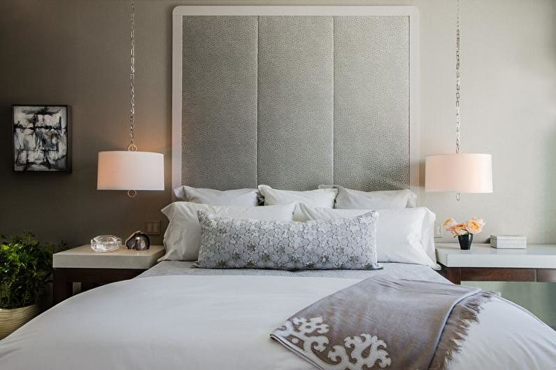 Дизайн спальни в стиле арт-деко - Отделка стен