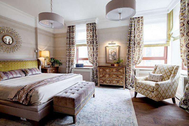 Дизайн спальни в стиле арт-деко - Мебель