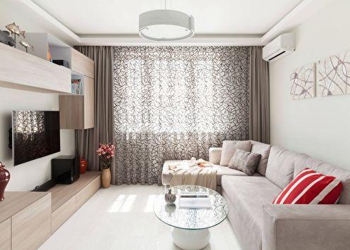 Дизайн гостиной в стиле минимализм (80 фото)