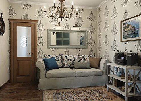 Гостиная в стиле прованс: 80 идей дизайна