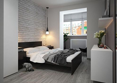 Дизайн спальни в минималистичном стиле