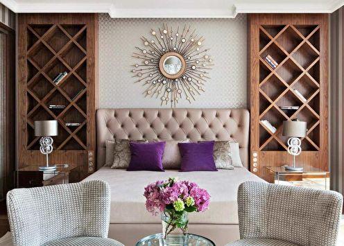 Спальня в стиле арт-деко: 80 красивых идей