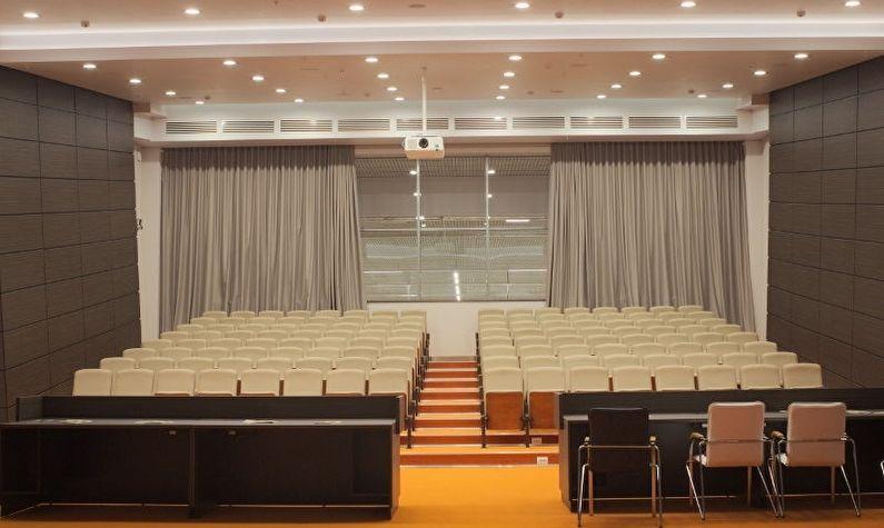 Решения для занавесов театральных сцен и музеев