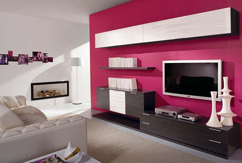 Как выбрать стенку для гостиной в современном стиле