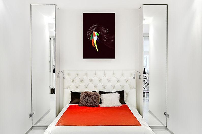 Дизайн спальни 9 кв.м. - как расставить мебель