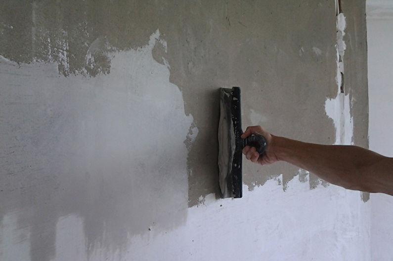 Декоративная штукатурка своими руками - подготовка стен